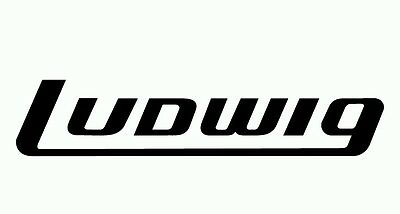 LUDWIG Drum Stickers NEW Buy 1 Get 1 Free , Free Postage Australia Wide