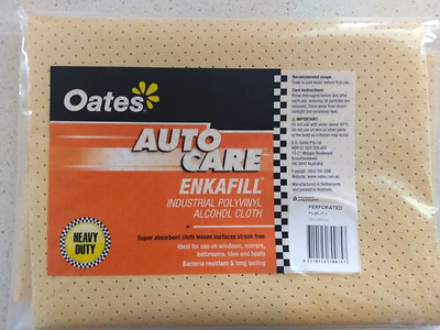 Chamois Oates Enkafill Industrial Professional Perforated PV-EF-17-1 72cmx54cm