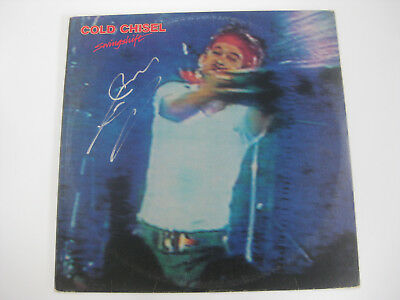 Jimmy Barnes Swingshift Signed Record Album Coa The Home Of The Real Deal