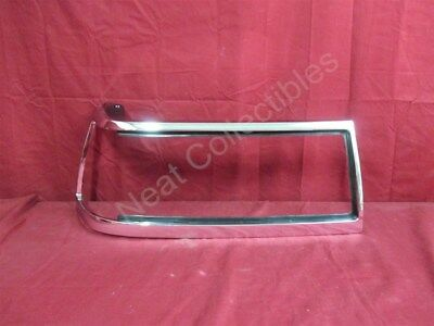 NOS OEM Buick Electra 4-Door Sedan Headlamp Door Bezel 1987 - 90 Right Hand