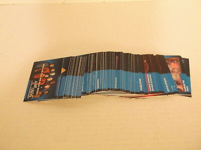 1992 Impel Star Trek Next Generation Inaugural Complete 120 Trading Card B. Set