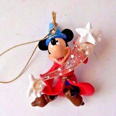 Disney Christmas Sorcerer Mickey Mouse Figural Ornament