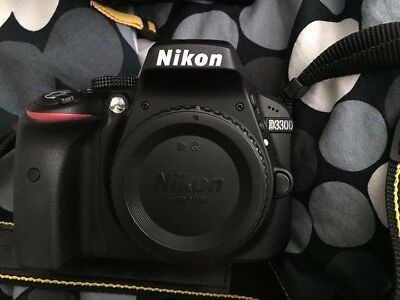 Nikon D D3300 24.2MP Digital SLR Camera - AF-S DX NIKKOR 18-55 F/3.5-5.6G VR 2