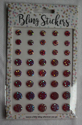 Bling Stickers rot