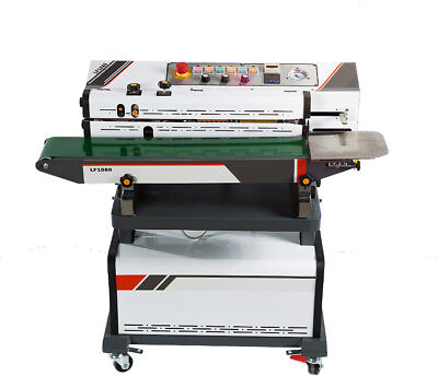 Continuous Air Suction sealing machine Date Printer vacuum band sealer by sea