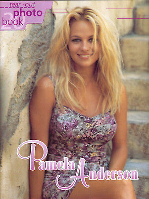 pamela anderson tear out photo book mens glamour magazine