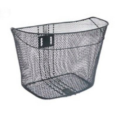 Brand new Bike Bicycle Basket Front Mesh with Fixed Fittings Black Womens Ladies