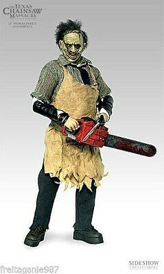 TEXAS CHAINSAW MASSACRE LEATHERFACE THOMAS HEWITT 30cm figure ltd 6500 Sideshow