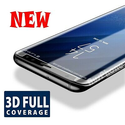 For Samsung Galaxy S8 S8 Plus 3D Full Coverage Tempered Glass Screen Protector