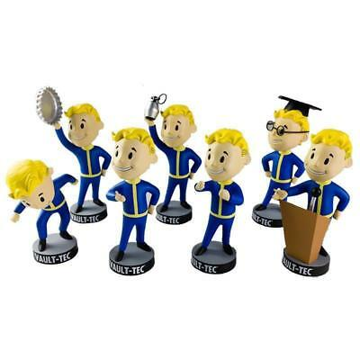 """NEW FALLOUT 4 - Vault Boy 5"""" Series 2 Bobble Head Set (7) by Gaming Heads"""