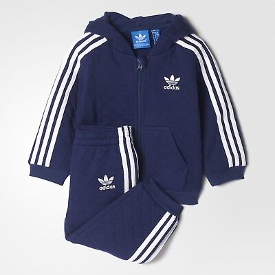 adidas Originals infant boys navy tracksuit. Jogging suit. Various sizes!