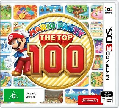 PREORDER - Mario Party: Top 100  - 3DS game - BRAND NEW