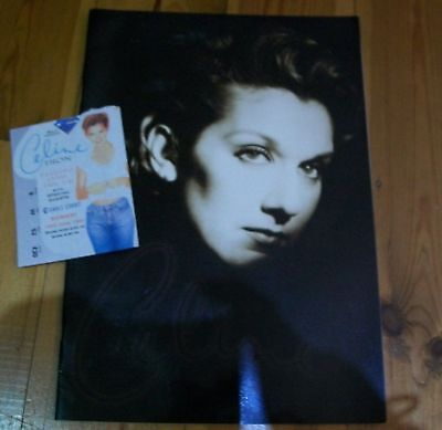 Celine Dion  Falling Into The Uk Tour Programme  1997