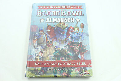 Der Offizielle Blood-Bowl-Almanach, Deutsch, Games Workshop, NEU/OVP