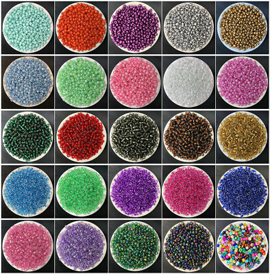 NEW DIY 15g 4mm 200PCS Lots Charm Czech Glass Seed beads Jewelry Making Craft