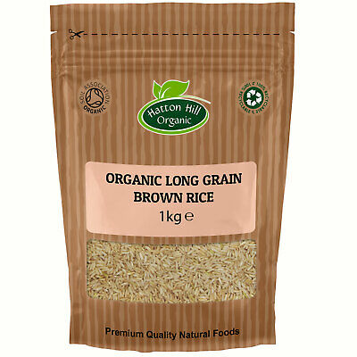 Organic Long Grain Brown Rice Certified Organic
