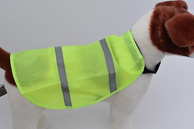 Hi-Visibility Pet Safety Vest Be Seen Be Safe!