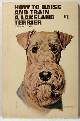 1966 HOW TO RAISE & TRAIN A LAKELAND TERRIER Weiss Dog Care Training  Showing