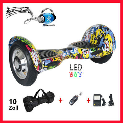 10 Zoll Hoverboard Classic Gyporode Elektro Scooter mit Bluetooth Samsung Akku