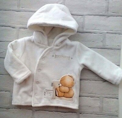 Baby Velour Jacket/Coat Forever friends Fleece Lined first size 9lbs