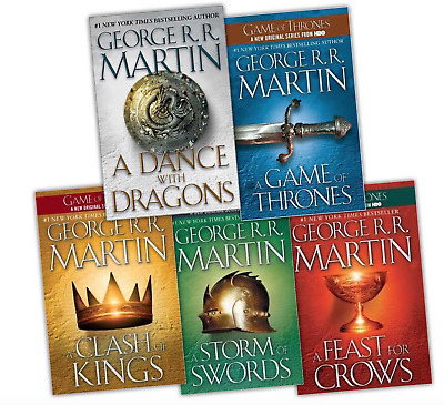 GAME OF THRONES COMPLETE BOOK SET 1-5. Epub