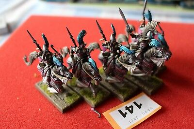 Games Workshop Warhammer High Elves Reavers Knights x5 Well Painted Fantasy