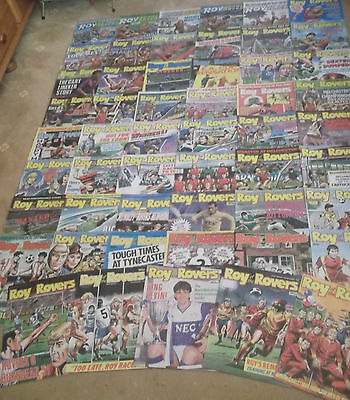 50 x ROY OF THE ROVERS from 1988