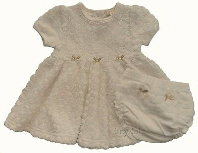 Zip Zap Baby Girls Rosebud Lace Dress & Pants 0-12months Christmas Occasion