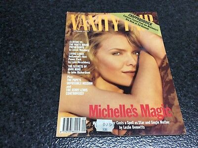 VANITY FAIR SEPTEMBER 1993 , Michelle Pfeiffer    Magazine VINTAGE