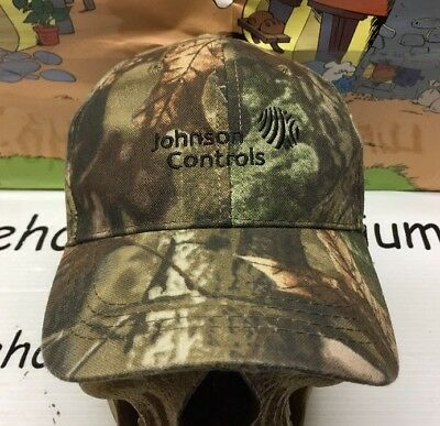 Johnson Controls Milwaukee Brewers Employee Hat Cap RealTree Camouflage