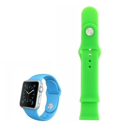 Bracelet en cuir Apple Watch 38mm Silicone Separated Replacement Band seulement