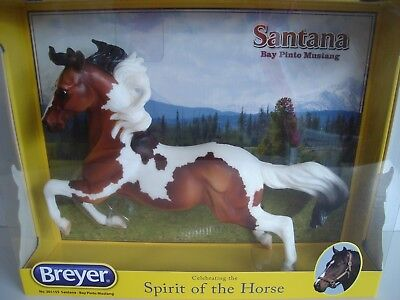 Breyer SANTANA, American Bay Pinto Mustang, Traditional 1:9 Scale, NEW in Box