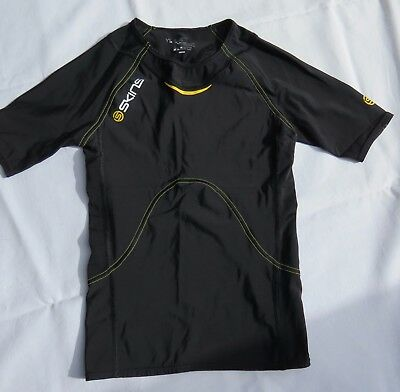 SKINS Compression TOP A400 Short Sleeve Size YL Youth