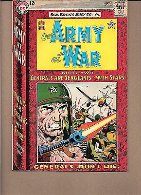 "Our Army At War  #148 1964  Dc  Fn/vg  ""sgt. Rock's-Easy Co."" Kubert"