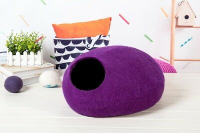 Felt Cat Cave – Various Colours