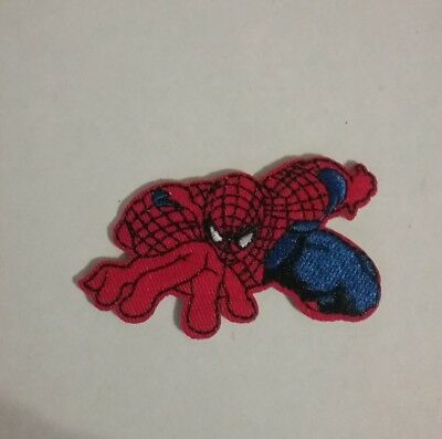 DIY  Spiderman Embroidered Patch Applique Badge Iron-on/Sew On