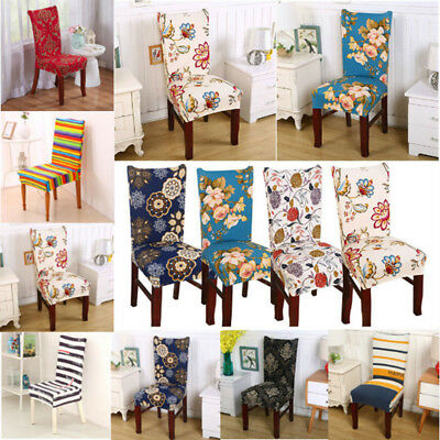 Home Banquet Wedding Dining Chair Covers Party Decoration Seat Cover Slipcover