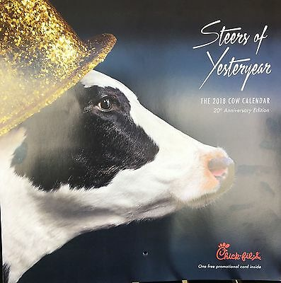 Chick-fil-A Cow Calendars (pack of 25)