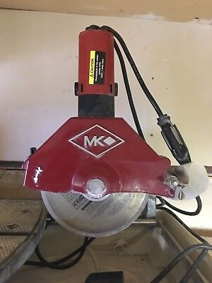Ceramic Tile Wet Saw Mk Diamond 470 With Owners Manual