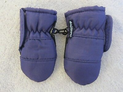 Thinsulate Toddler Mittens~Baby/infant Winter Mittens~Purple Mittens