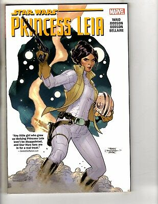 Star Wars Princess Leia Marvel Comics TPB Graphic Novel Comic Book 1st Prnt J281