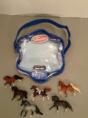 VHTF 2008 Breyer #300119 Mini Whinnies 6 Gaited Horses RARE
