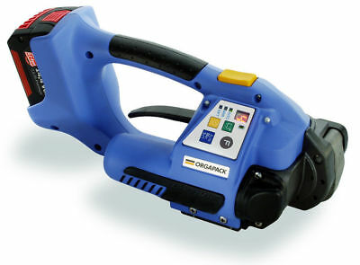 NEW Orgapack ORT 250 Battery Operated Strapping Poly Tool with 2 New Batteries