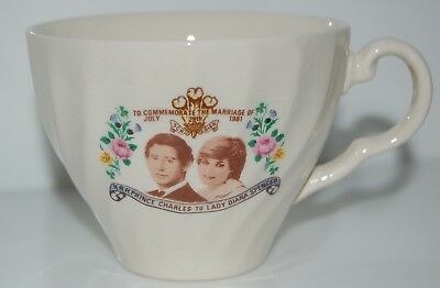 Charles & Diana - Commemorative Tea Cup - Made in Australia