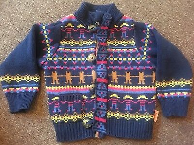 Gorgeous Tootsa Macginty Thick Cardigan, Boys Girls Unisex 12-18 Months