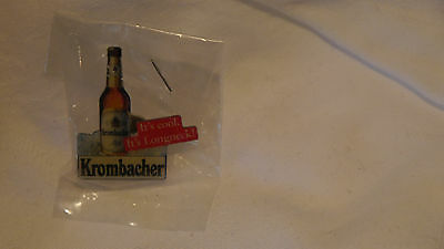 Pin / Anstecknadel -Krombacher- It's Cool - It's Longneck- - Neu
