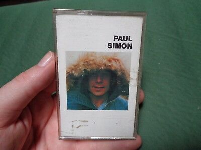PAUL SIMON_Self Titled_used cassette_ships from AUS!_zz61_N2