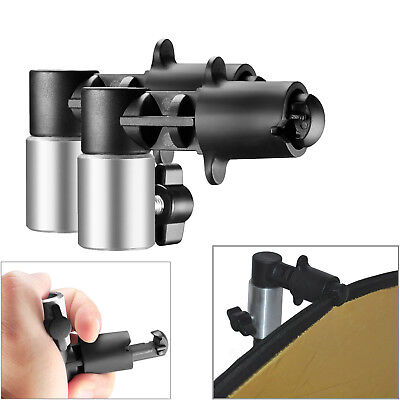 2PCS NEEWER Portable Studio Reflector Disc Holder Clip fr Photo Stand Background