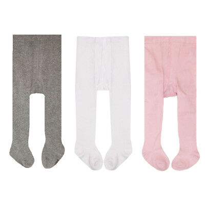 3pc/lot baby Spring/Autumn Tights Cotton Baby Girl Pantyhose Kid Infant Knitted