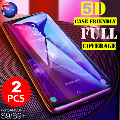 2XGalaxy Note8 S8 Plus 4D Full Cover Tempered Glass Screen Protector for Samsung